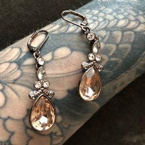 Jewelry - Rose Gold Dangle Earrings